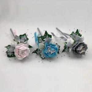 Artificial Wedding Flower Girl Wand Butterfly