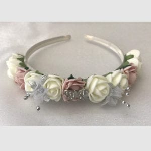 Artificial Wedding Flowers Wedding Hair Flower Headband / Bridesmaid