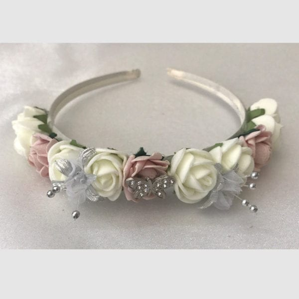 Artificial Wedding Flowers Wedding Hair Flower Headband / Bridesmaid