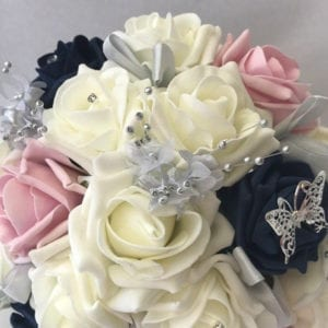 Artificial Wedding Flower Bridesmaid Posy