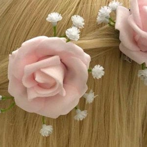 Artificial Wedding Flower Hair Accessories