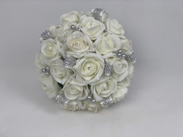 Brides posy. - Ivory