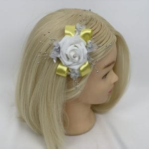 hair comb yellow