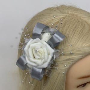 grey hair comb