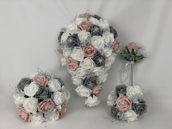 artificial wedding bouquets