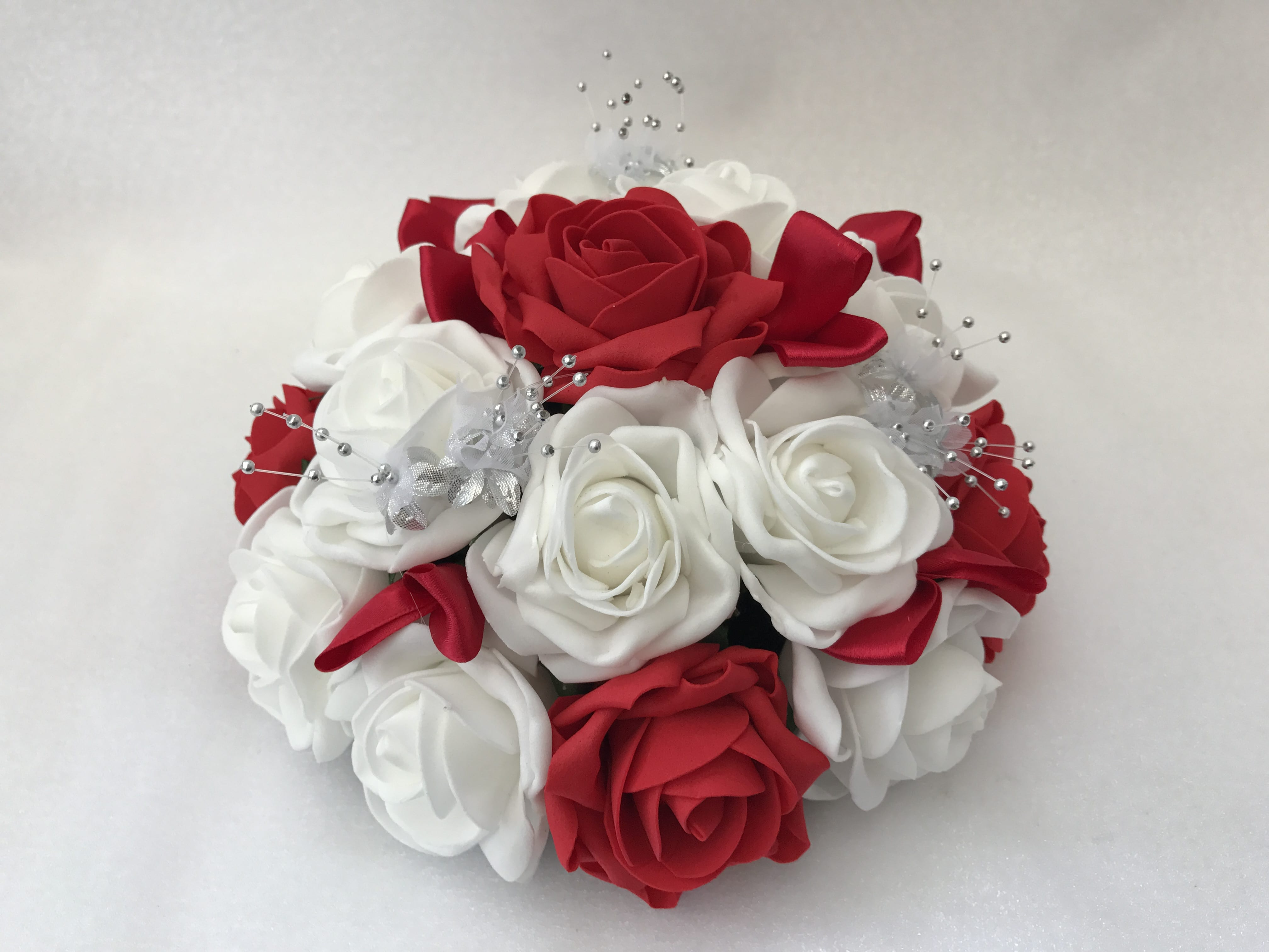 Artificial Wedding Flowers Round Table Decoration Roses