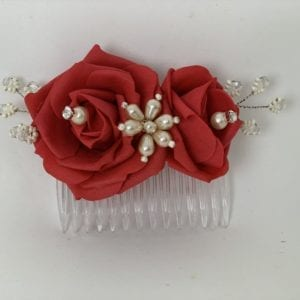 hair comb red