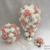 Artificial Wedding Bouquets - Peach