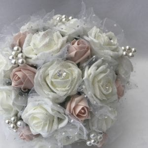 brides posy flowers