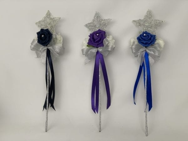 flower girl wands star