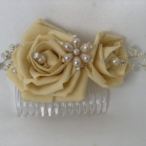 hair comb gold