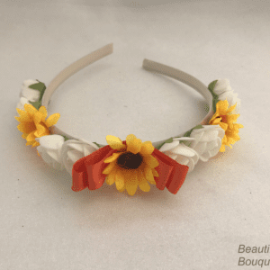 sunflower headband