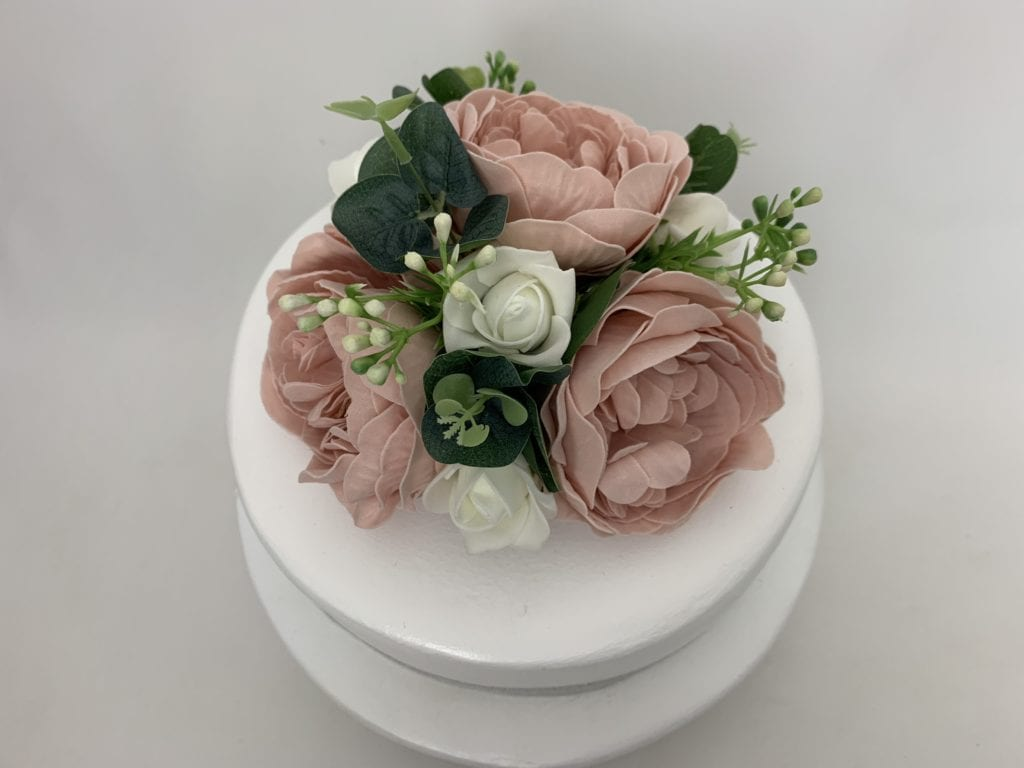 silk flowers for wedding cake uk artificial wedding cake topper peonies beautiful bouquets 19839