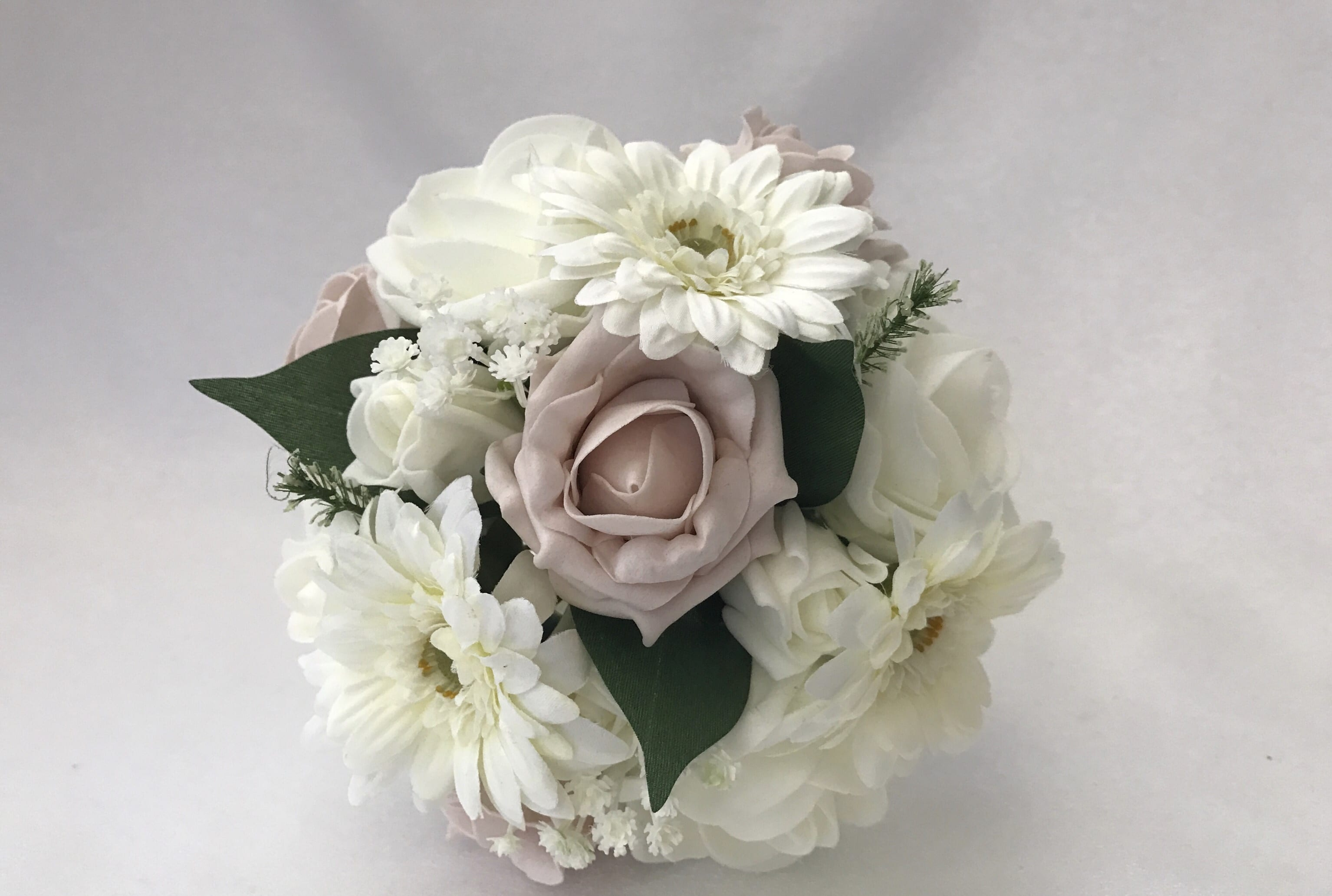 Small Artificial Wedding Flowers Bridesmaid Bouquet Posy