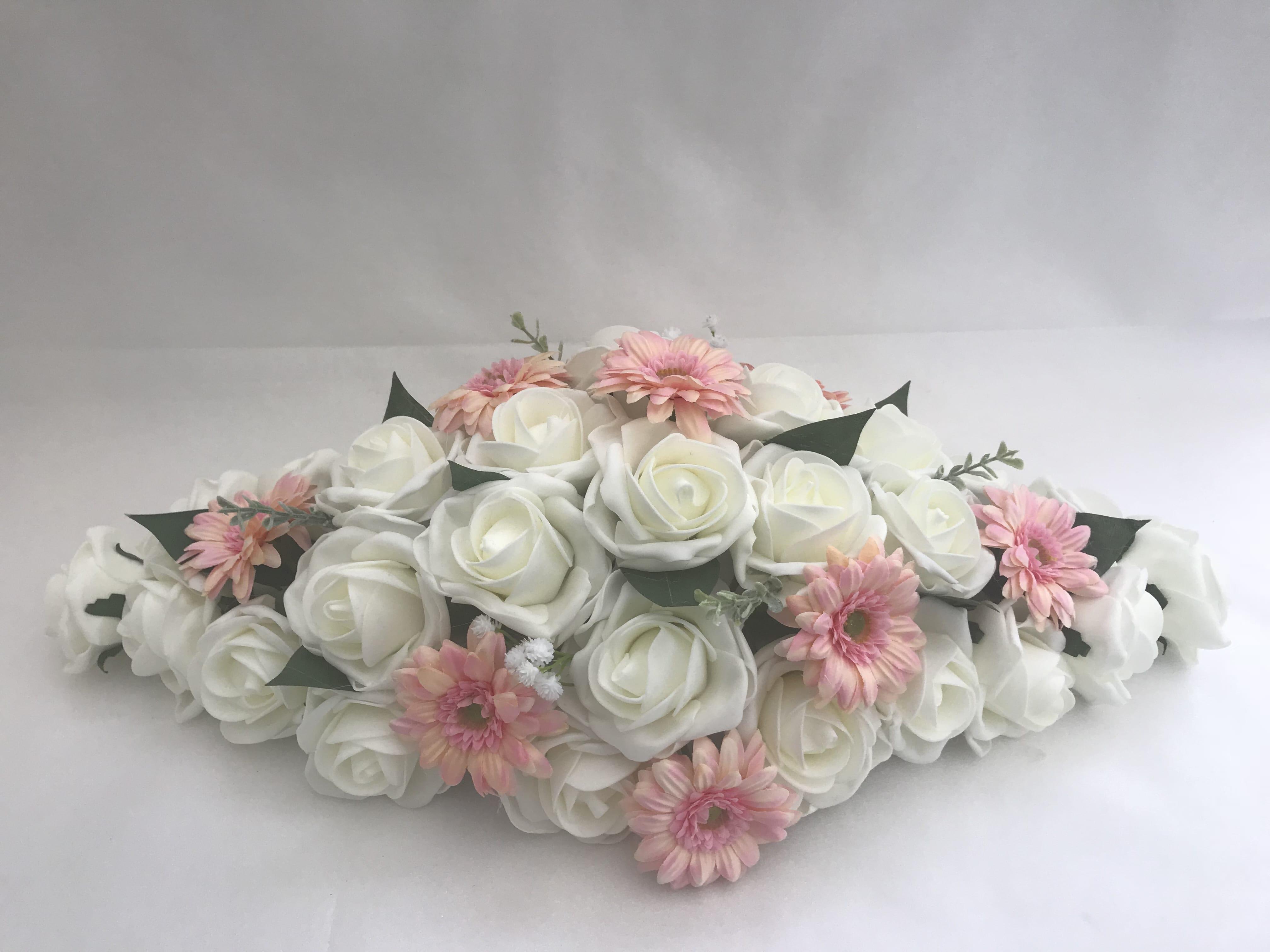 Artificial Wedding Flowers Top Table Decoration Gerbera