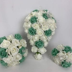 Artificial Wedding Flowers Package Butterfly