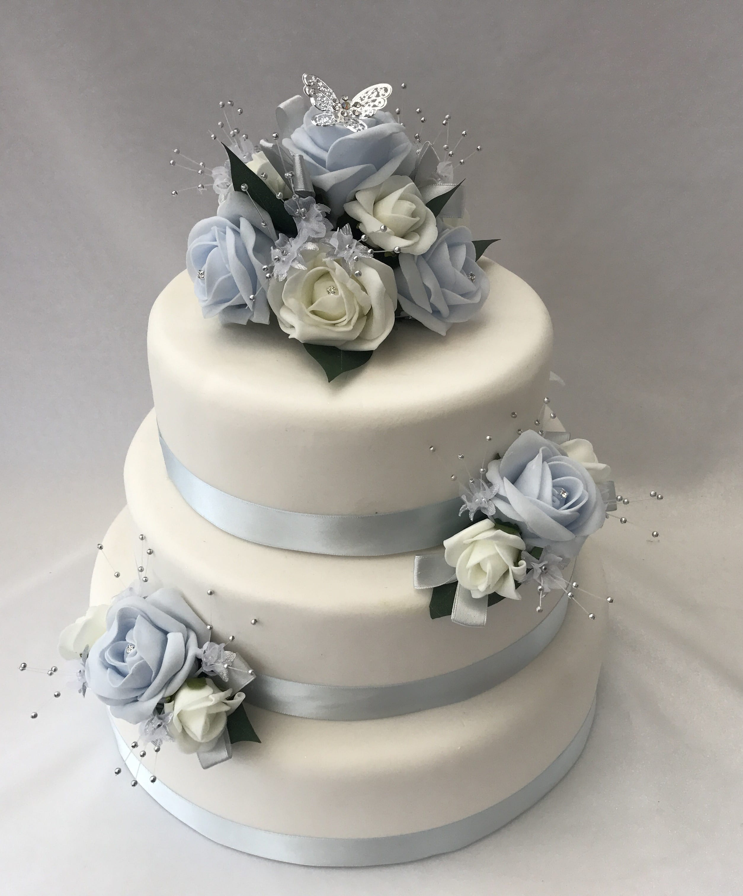 artificial wedding cakes uk artificial wedding cake topper butterfly 3 10853