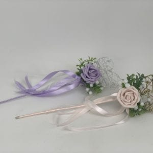 flower girl heart wand
