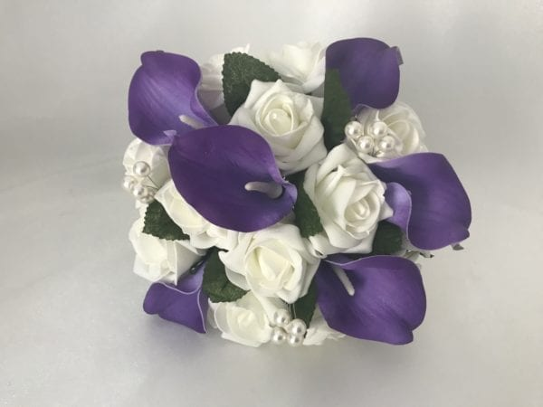 calla Lillies bridesmaid posy