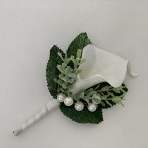calla lily buttonhole