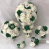 Artificial Wedding Bouquets - Emerald Green