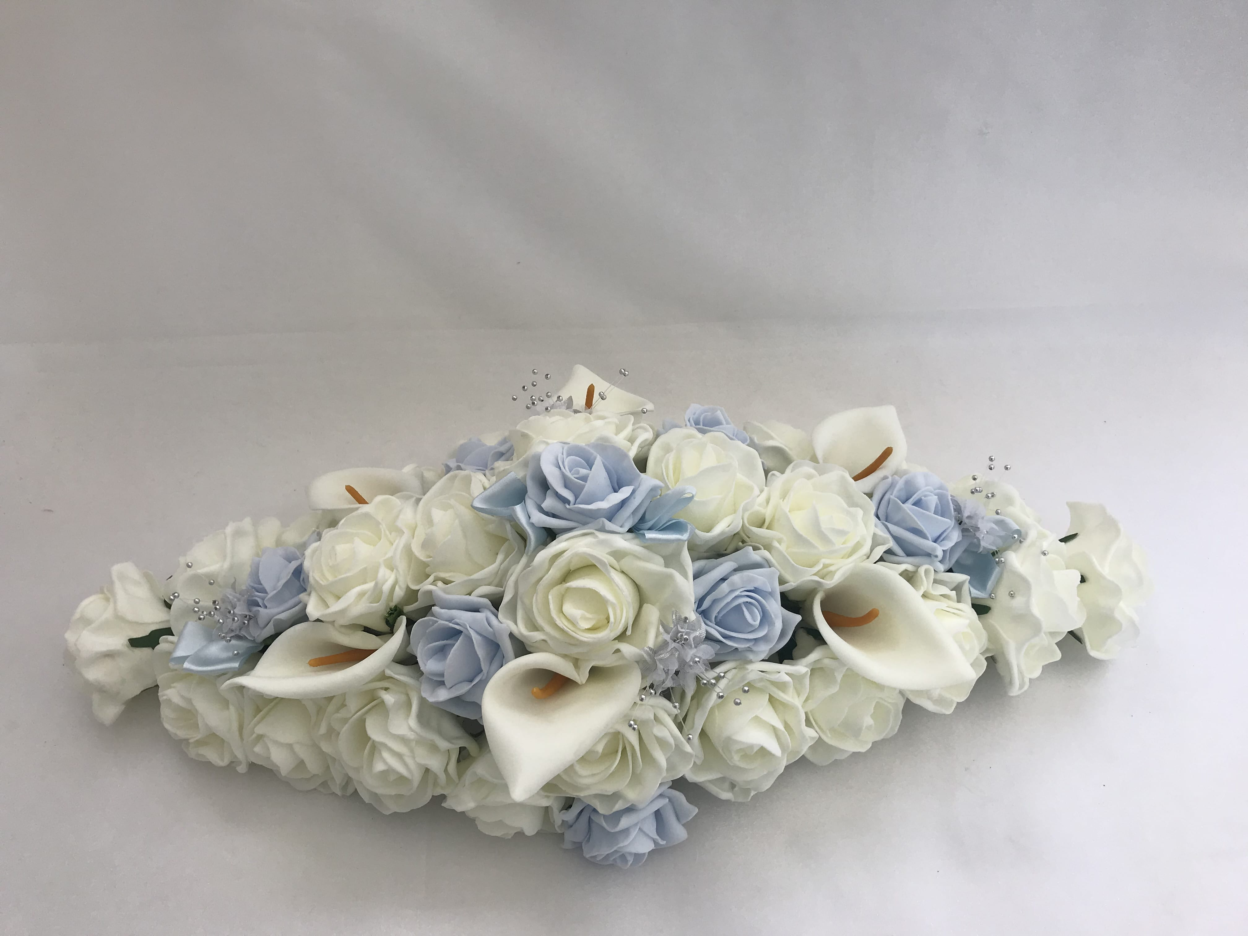 Artificial Wedding Flowers Top Table Decoration Calla Lillies