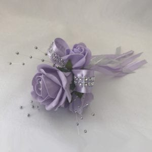 Artificial Bridesmaid Flower Girl Wand