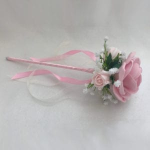 Artificial Bridesmaid Flower Girl Wand Gypsophila