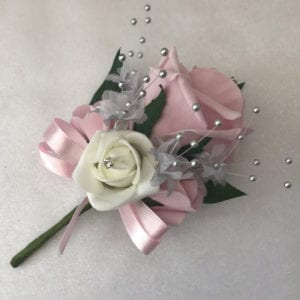 Artificial Buttonhole Wedding Corsage Ladies Pin On Corsage