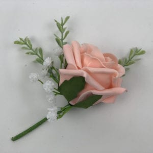 Artificial Single Wedding Corsage Gypsophila