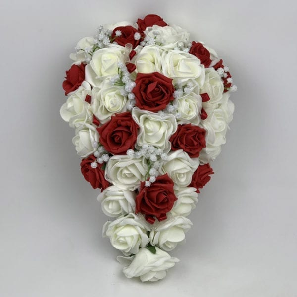 Artificial Wedding Flowers Package Gypsophila White