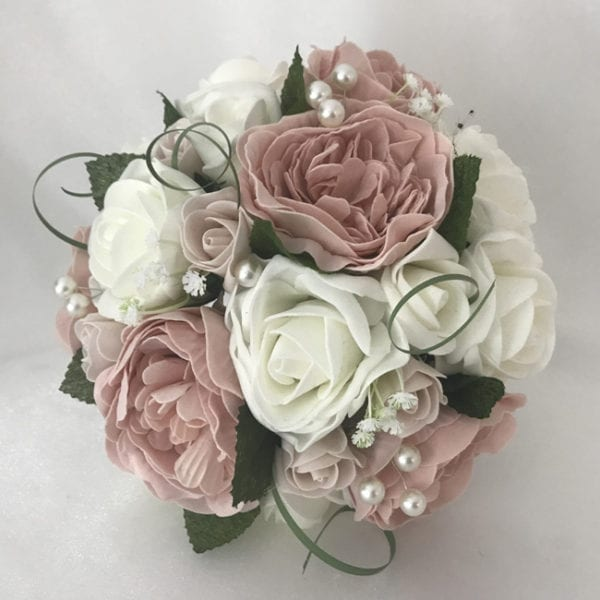 Artificial Wedding Flowers Package Peonies Bouquet