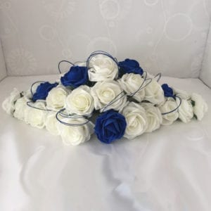 Artificial Wedding Flowers Top Table Decoration Glitter Hoops