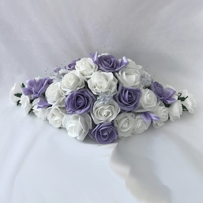 Fake Wedding Flowers Uk: Artificial Wedding Flowers Top Table Decoration Roses