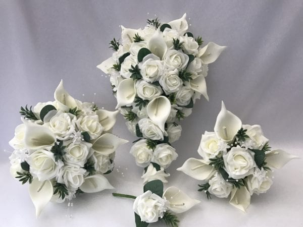 Wedding Bouquets With Calla Lillies