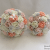 Artificial Wedding Bouquets Baby Pink Peach