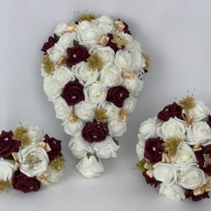 Wedding Bouquets Gold