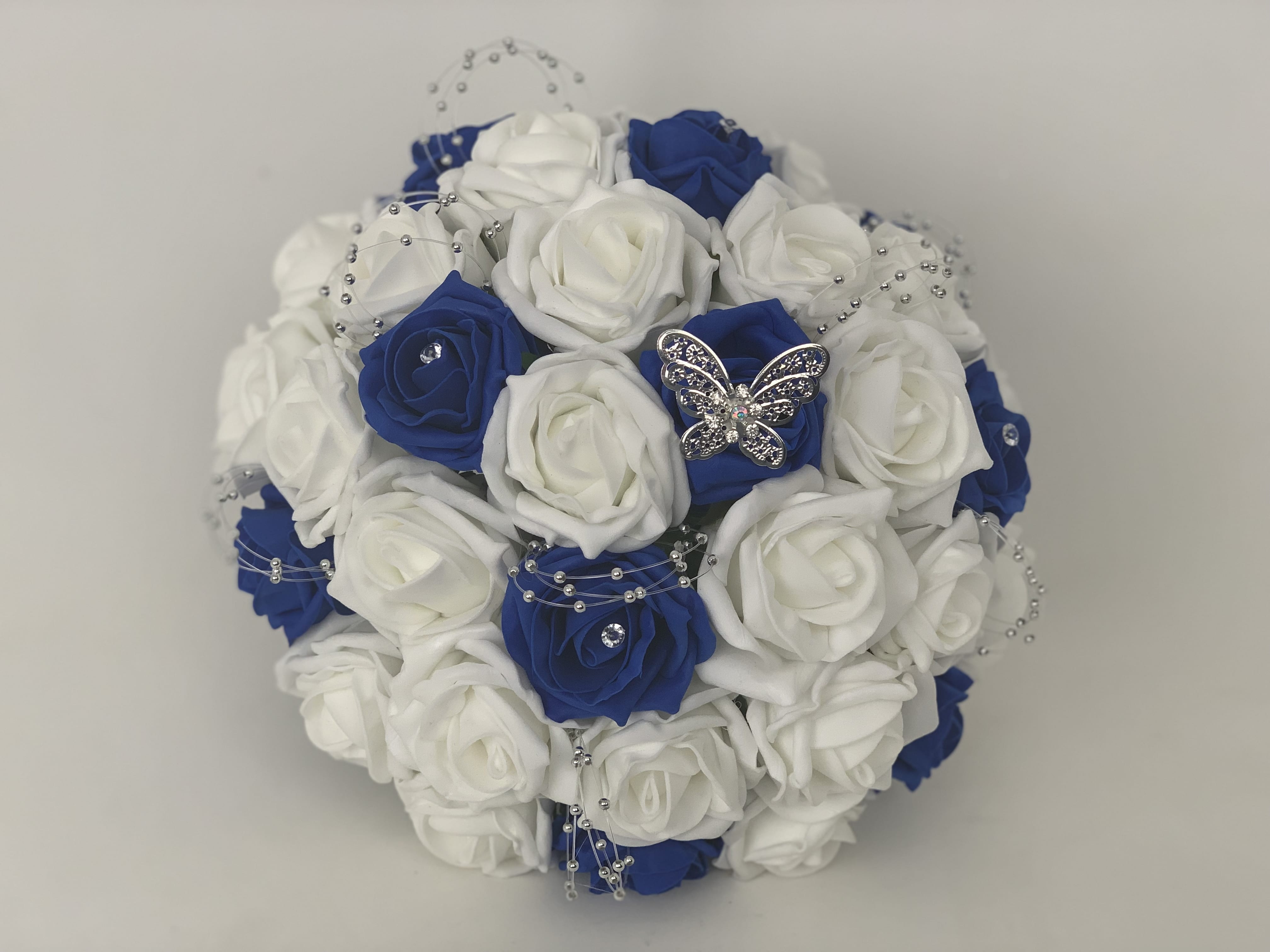 Create Your Own Bridal Round Posy Bouquet