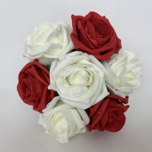 Small Childs Bridesmaid Posy - Red