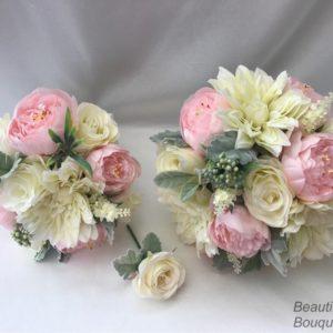 Silk Flower Wedding Bouquets