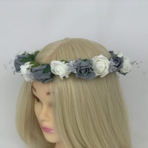 Wedding Flower Garland - Grey