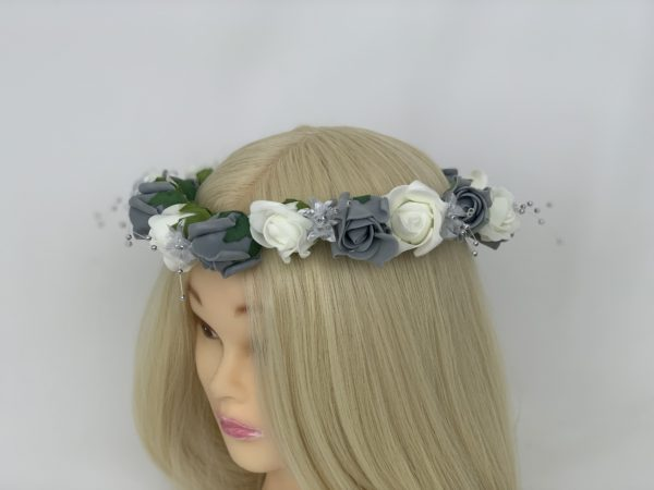 Wedding Flower Garland - Grey