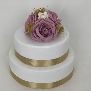Cake Topper - Dusky Pink