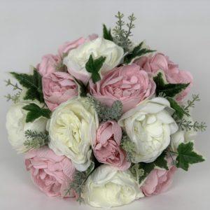 Brides Wedding bouquet With Peonies