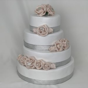 Wedding Cake Topper - Blush Pink