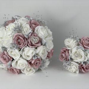 Wedding Bouquets - Hearts