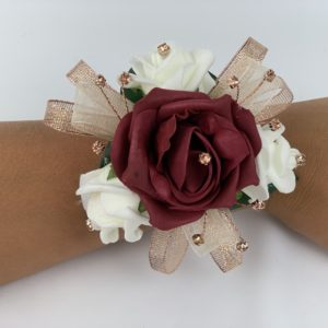 Wrist Corsage Rose Gold