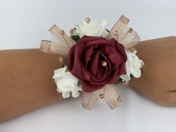 Wrist Corsage Rose Gold